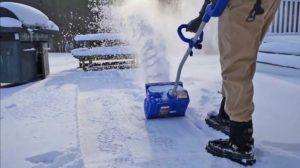Снеговая электролопата