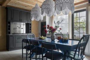 Проект недели: Кухня-гостиная в голландском стиле